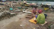 Di tengah bencana warga Gane masih bisa memanfaatkan pangan lokal untuk makanan mereka