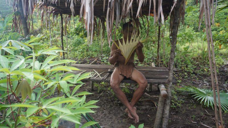 Masyarakat adat Tobelo Dalam di hutan Halmahera