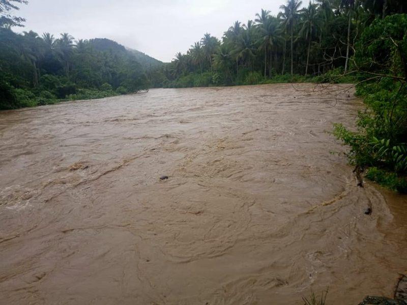 Banjir di Saolat, Wasile Haltim,  13 September lalu. foto Fb Munadi Kilkoda